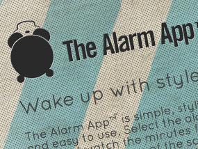 Alarm App Website